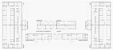 Maternity Hospital Floor Plan by Transportable Morgue Unit Transmodular Hospital Systems