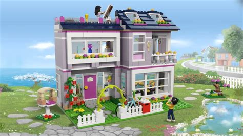 lego friends 41095 s house lego 3d review