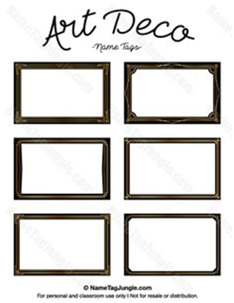 deco card templates free free printable western name tags the template can also be