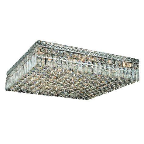 chrome flush mount light lighting 13 light chrome flushmount with clear