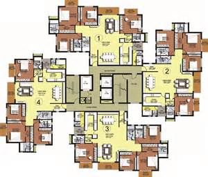 Cluster Home Floor Plans by Luxury Apartments Sholinganallur Chennai Asv Alexandria
