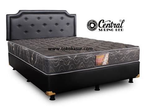 Kasur Central Uk 160x200 central deluxe sandaran calista toko kasur bed murah simpati furniture