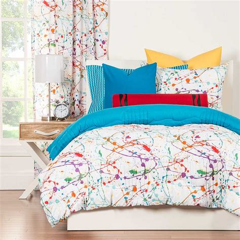 Warehouse Bedding Sets Crayola Splat Comforter Set Blanket Warehouse