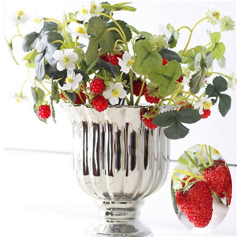 strawberry home decor online get cheap artificial strawberry plants aliexpress