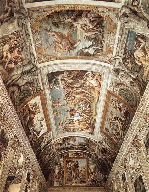 baroque ceiling farnese ceiling fresco baroque annibale carracci painting
