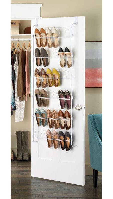 over the door shoe rack white in over the door shoe racks