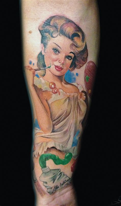 tattoo ideas magazine pin up designs society magazine