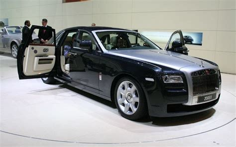 Rolls Royce Phantom Ghost New Rolls Royce Ghost Igyst