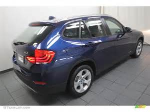 sea blue metallic 2013 bmw x1 sdrive 28i exterior