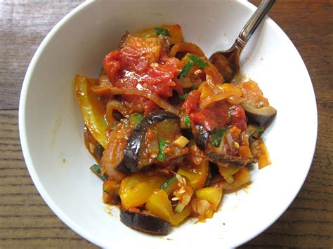 ratatouille for breakfast dishes and dishes