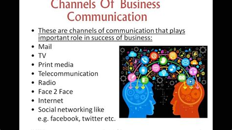 patterns of business communication ppt importance of business communication presentation youtube