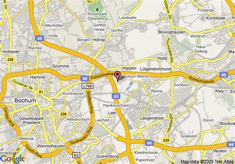 map of bochum germany map of achat hotel bochum bochum