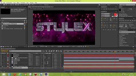 templates for after effects cc especial 1 5k intro template after effects cc by stylex