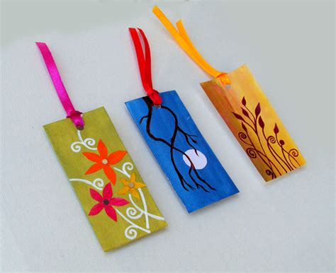 Handmade Bookmark Ideas - handmade bookmarks for sale handmade gift items india
