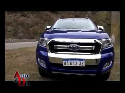 Teste Auto by Ford Ranger Limited Mt 11 6 16 Test Auto Al D 205 A