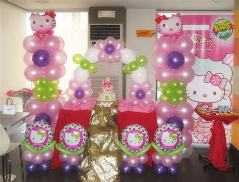 rose theme kitty party hello kitty birthday party at jollibee as fortuna branch