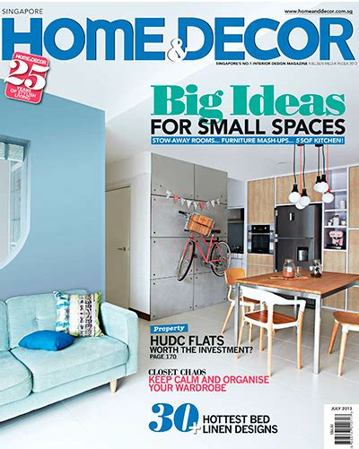 home decor magazines list home decor singapore magazine july 2013 187 pdf magazines