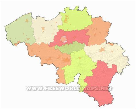 belgium map outline belgium political map