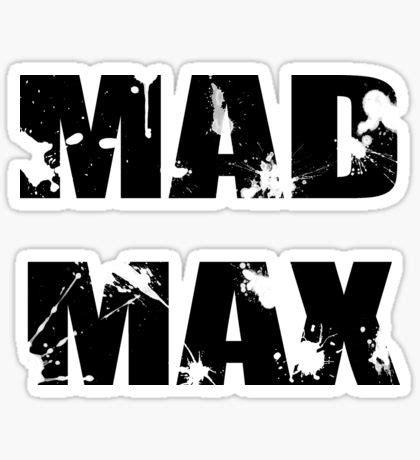 Mad Max Stickers