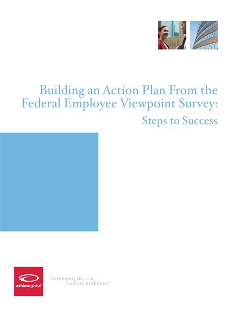 viewpoint survey building an action plan from the federal employee