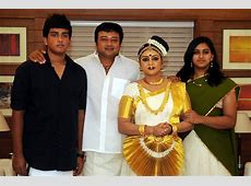 Malayalam Actor Jayaram Family Photos Malavika Jayaram