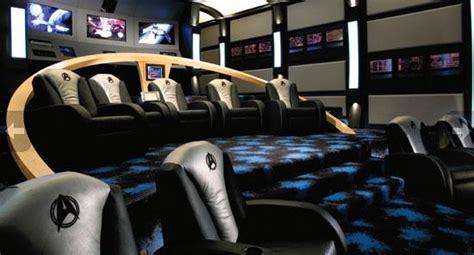 Salle De Cinema Privée 533 by 12 Epic Home Theaters Batcave Guff