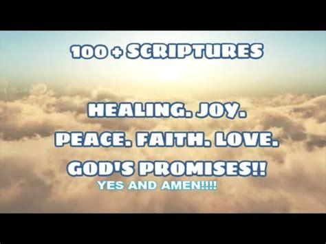 bible scriptures healing joy peace faith love strength  jesus youtube