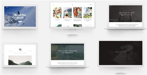 www squarespace templates wix vs weebly vs squarespace based on personal experience