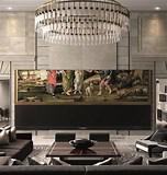 Image result for Largest 4K TV 2020. Size: 152 x 160. Source: www.designboom.com