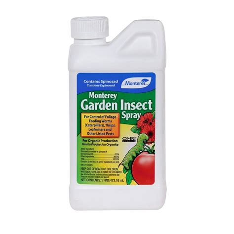 backyard fly repellent monterey garden insect spray with spinosad pts lg6150