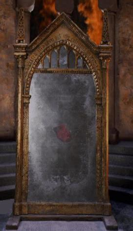 The Mirror by Mirror Of Erised Harry Potter Wiki