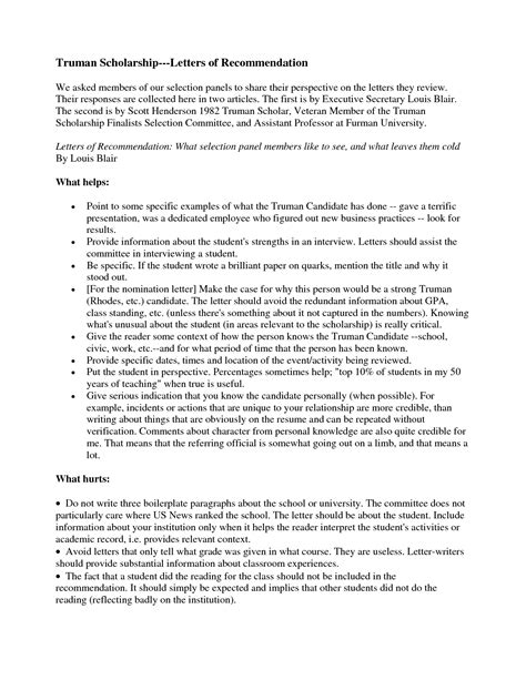 Letter Of Recommendation For Undergraduate Scholarship scholarship letter of recommendation bbq grill recipes