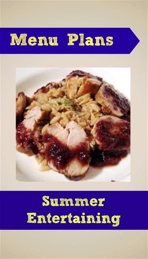 summer entertaining menu ideas weight watchers menu plan southern savers