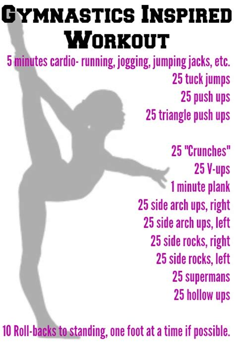 gymnastics conditioning routine search fitness