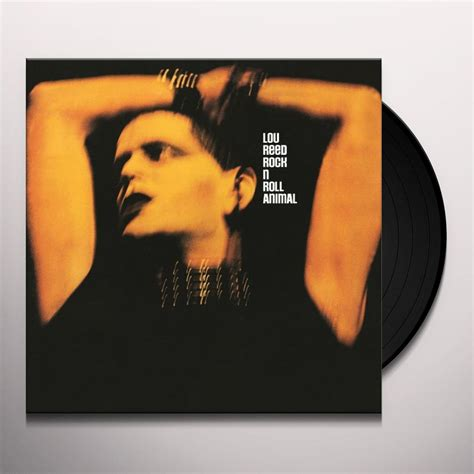 Vinyl Lou Reed lou reed rock roll animal vinyl record
