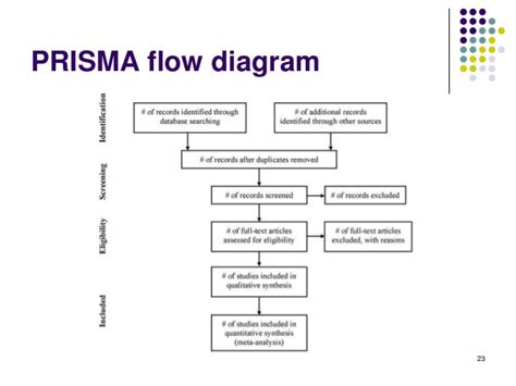 prisma flow chart template systematic review