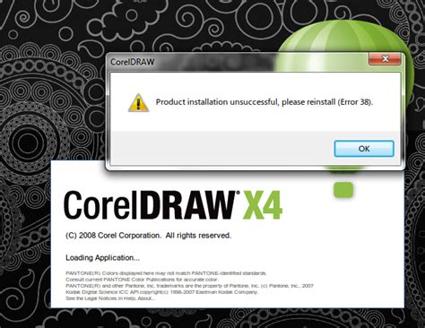 corel draw x5 error 38 blog nang belog mengatasi error 38 pada corel draw grahic