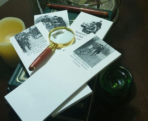 magnifying glass desk set the sherlock holmes desk set