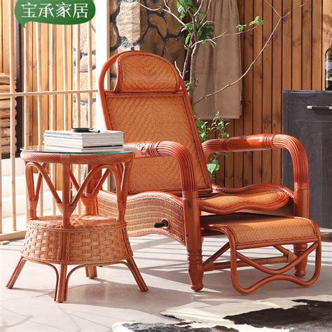 child recliner chairs rattan wood recliner chairs siesta balcony outdoor leisure