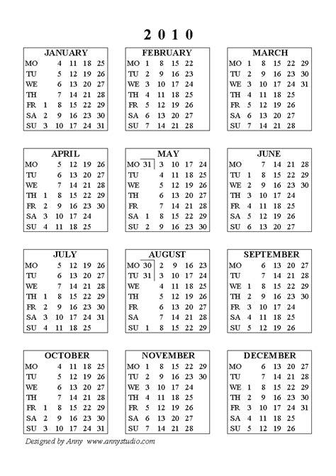 Calendar For 2010 Wallpaper On Line Printable Calendar 2010 And 2011