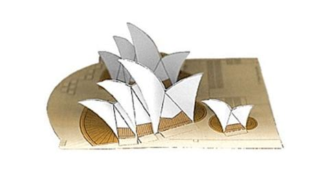 origami paper sydney new paper craft simple sydney opera house free building