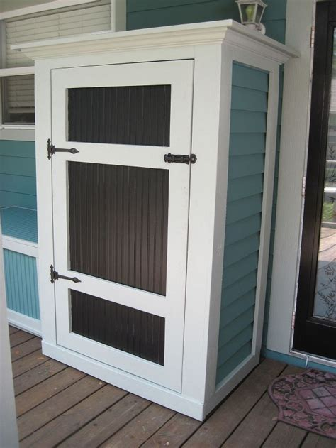 small outdoor storage closet small outdoor storage hometalk