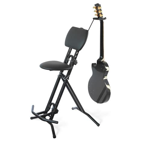 Guitar Stool With Back by Road Ready Promotional Items Road Ready Comfortable