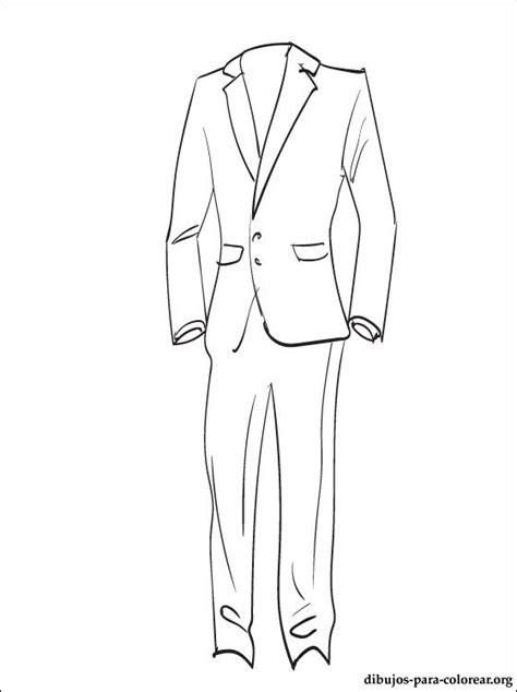 imagenes para colorear vestido dibujo traje imagui