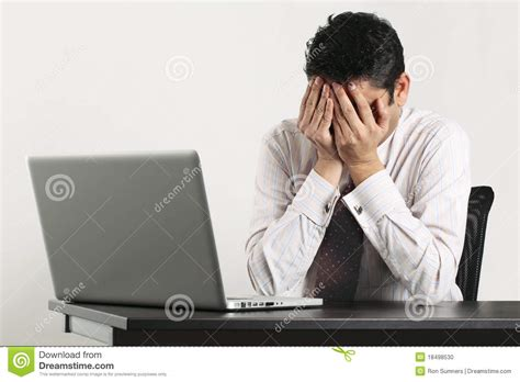 Bad Day At The Office by Bad Day At The Office Stock Photo Image 18498530