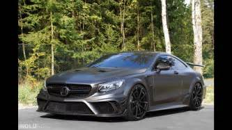 mansory mercedes s63 amg coupe black series
