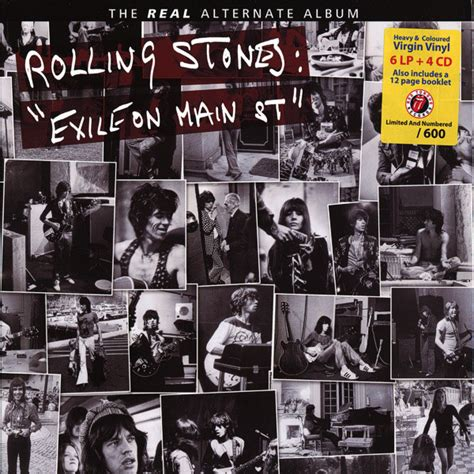 Cd Original Rolling Stones Exile On St the rolling stones exile on st the real alternate album vinyl lp at discogs