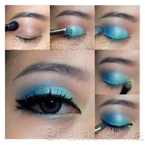 Eyeshadow Biru Tua eotd 10 giveaway feat japan softlens the