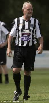 Attempts In Re Hab by Healthy Looking Paul Gascoigne Enjoys A Kickabout Daily