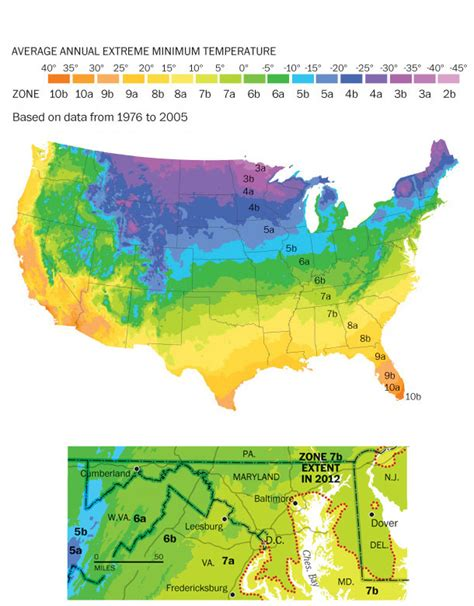gardening zone by zip code new plant hardiness zone map the washington post